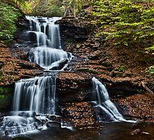 Tuscarora Falls by Marty Straub
