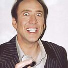 Nicolas Cage Rape Face by Alex & Marco Mitolo
