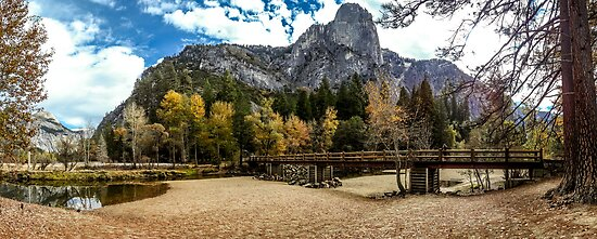 Fall Yosemite National Park by Russell Charters