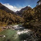 Southern Alps River by doug hunwick