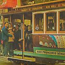 Cable Car - A San Francisco Landmark by Buckwhite