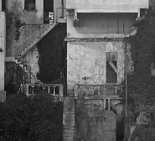 The Wardens Landing on Alcatraz Island  - San Francisco by Buckwhite