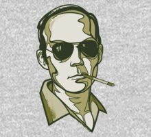 Hunter S. Thompson green by Cloxboy