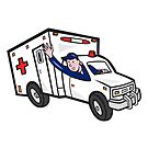 Ambulance Vehicle Emergency Medical Technician Paramedic  by patrimonio