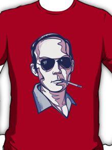 Hunter S. Thompson violet T-Shirt