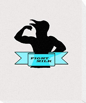 Fight Milk by HighDesign