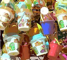 Plastic Buckets by gailmiller