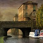 Rochdale Canal Hebden by Irene  Burdell