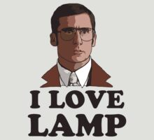 I Love Lamp by Ashlee Warren
