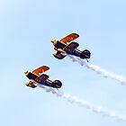 TRIG Aerobatic Display Team by Paul Madden