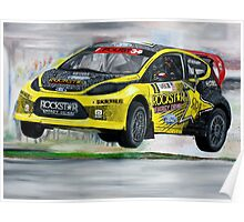 Tanner Foust RallyCross Limited Edition Print A2 Poster