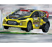 Tanner Foust RallyCross Limited Edition Print A2 Photographic Print