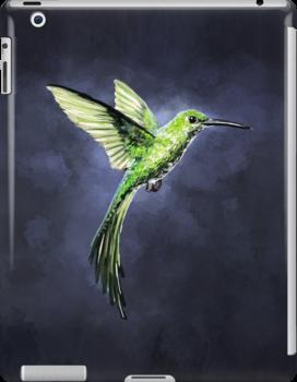 Green Hummingbird by freeminds