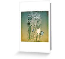 Wireless ancient Egypt Greeting Card