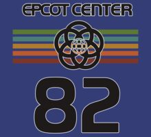 Epcot 82 Faded With Black Letters by AngrySaint