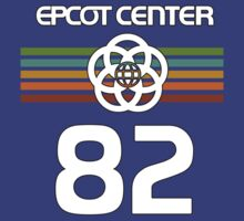 Epcot 82 Faded With White Letters by AngrySaint