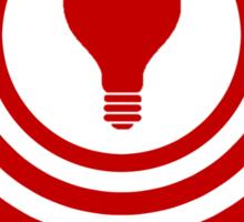 The thinking Spot Sticker