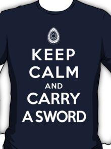 Keep Calm and Carry A Sword, Revolution T-Shirt