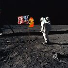 Super Mario On the Moon by greatskybear