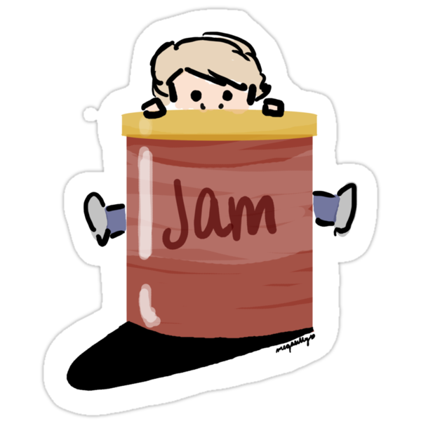 John Loves Jam (v2) by megasilly