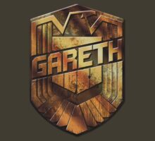 Custom Dredd Badge - (Gareth)  by CallsignShirts