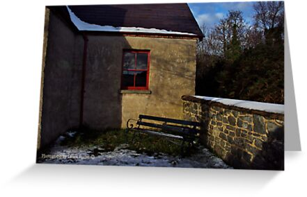 Quiet Corner, Winter Scene, County Down by Laura Butler