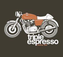 Triple Espressoo Laverda 3CE Cafe Racer by velocitygallery