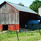 Red Barn by HarderHarmonies