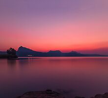 Backwater Sunset by Prasad