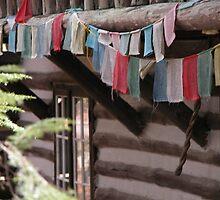 Prayer Flags by Mona Shiber
