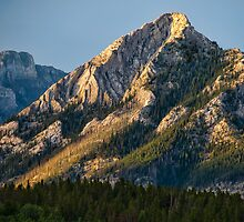 Yellow Mountain Top by James Wheeler