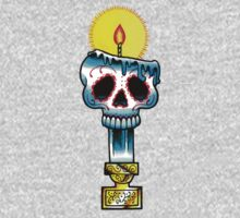 Muerte Candle - Day of the Dead Tattoo Flash by MissCarissaRose