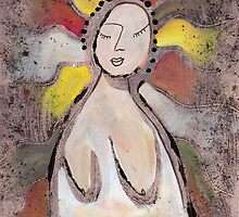 Primitive Nude 1 by gailmiller