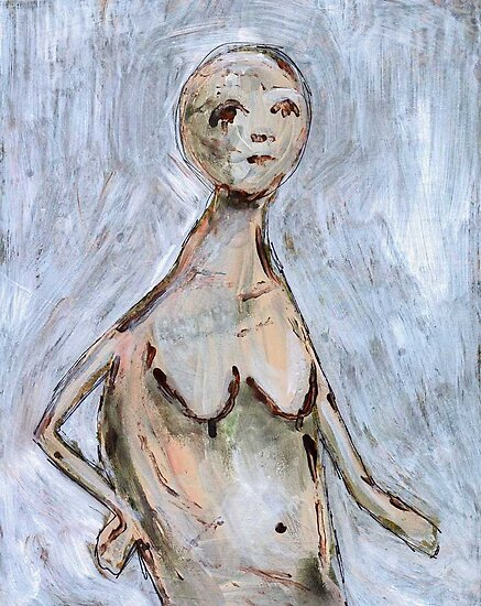 Primitive Nude 2 by gailmiller