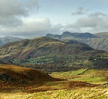 Langdale Skyline by Jamie  Green