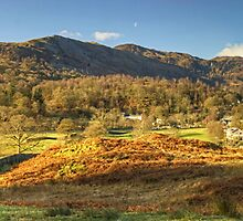 Elterwater Village..The Wider View by VoluntaryRanger