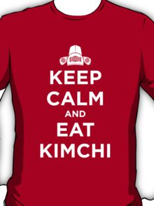Keep Calm and Eat Kimchi T-Shirt