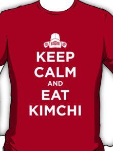 Keep Calm and Eat Kimchi T-Shirt