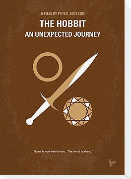 No166 My The Hobbit minimal movie poster by Chungkong