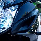 Yamaha Diversion F front view by htrdesigns