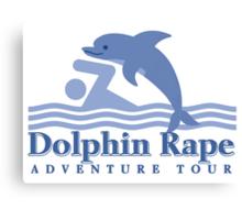 Dolphin Rape Adventure Tours Canvas Print