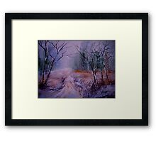 Nothing Here.... Framed Print