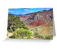 Nevada Colors Greeting Card