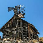 Ghost Town Windmill - Jerome, Arizona by Mary Warner