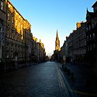 Edinburgh Royal Mile by Aaron McKenzie
