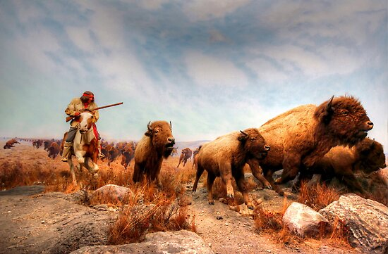 Buffalo Hunt by Larry Trupp