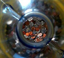 Coin Jug by jessicacbarker
