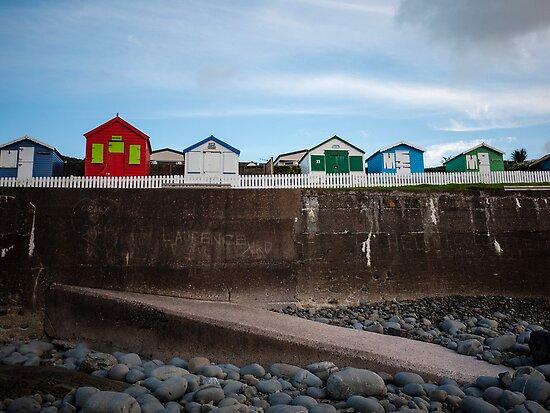 Beach Huts by John Burtoft