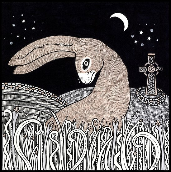 Celtic Hare by Anita Inverarity