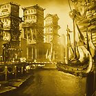 Steampunk City by Punksthetic